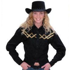 Camicia Western Gold-Black