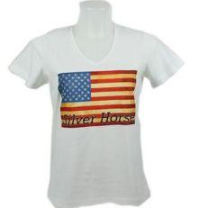 Maglietta Western Flag Donna
