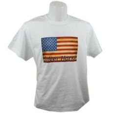 T-shirt Western Flag Uomo