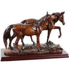 Statua con Cavalli