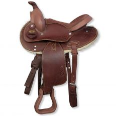 Sella Pony Western Silver Horse Wyoming