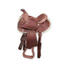 Sella Pony Western Silver Horse Texas