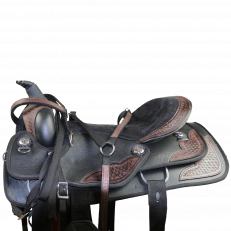 Sella Western Silver Horse Completa Kansas