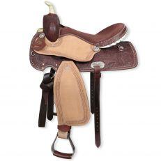 Sella Western Silver Horse Oklahoma