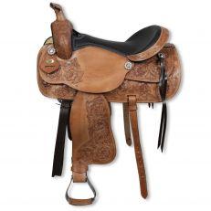 Sella Western Silver Horse Oregon