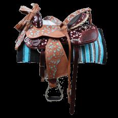 Sella Western Silver Horse Big Elegance