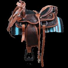 Sella Western Silver Horse RollsPleasure