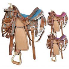 Sella Western Silver Horse Georgia