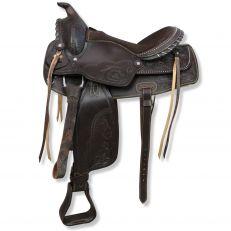 Sella Western Silver Horse Maine