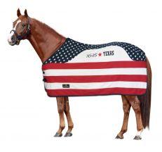 Coperta Cavallo in Pile Horses Texas
