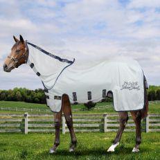 Coperta Antimosche in  Rete Horses Silver Sheet Plus