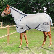 Coperta Antimosche in Rete Horses Silver Sheet