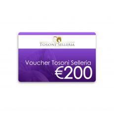 Voucher Tosoni Selleria 200€
