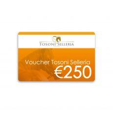 Voucher Tosoni Selleria 250€