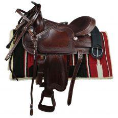 "Sella Western Silver Horse ""Laredo"""
