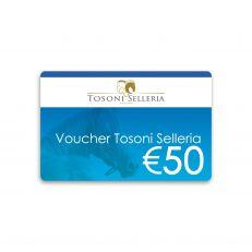 Voucher Tosoni Selleria 50€