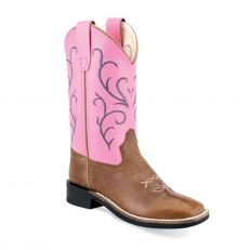 Stivali Western Youth Old West Pink