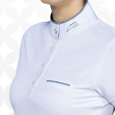 Polo Donna Manica Lunga Equiline Gracielle