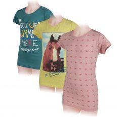 T-Shirt Horseware Novelty Girl