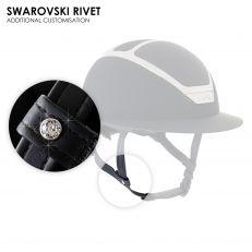 Personalizzazione Kask SWAROVSKI RIVET