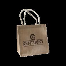 Borsa Kentucky In Juta Con Logo