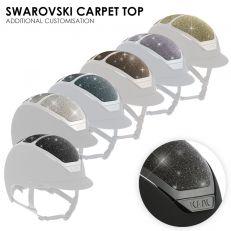 Personalizzazione Kask SWAROVSKI CARPET TOP