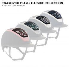 Personalizzazione Kask SWAROVSKI PEARLS