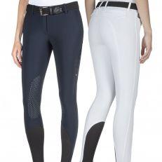 Pantaloni Donna Equiline Brendak Con Grip
