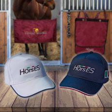 Cappellino Unisex Horses
