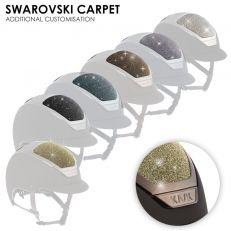 Personalizzazione Kask SWAROVSKI CARPET
