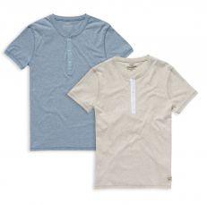 T-Shirt Uomo Wrangler Con Bottoni