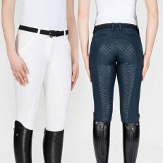 Pantaloni Equitazione Equiline X-Shape Full Grip