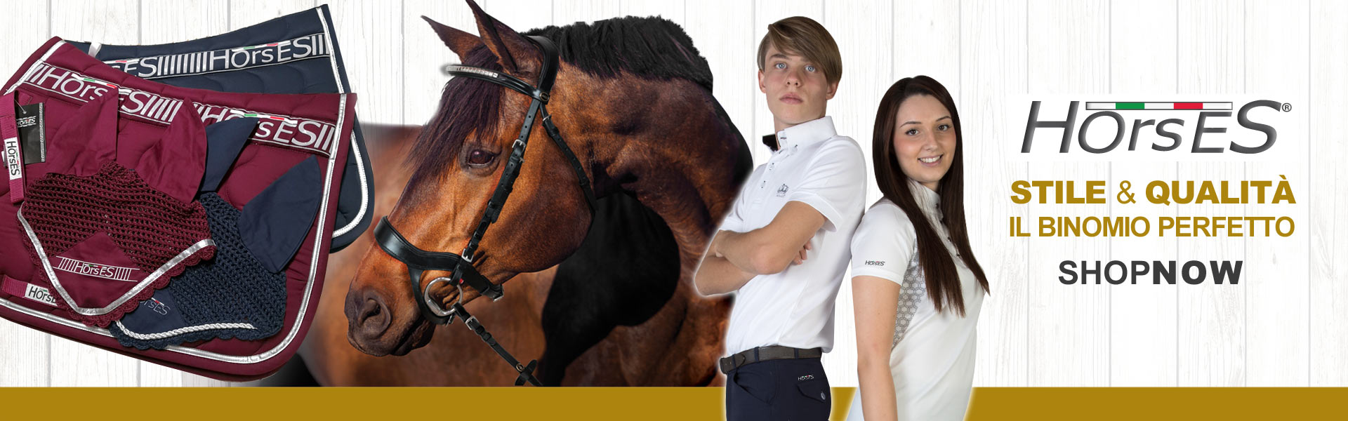 quality and style accessories for horse and rider